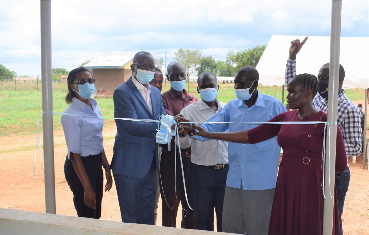 Uganda Baati graces Agago hospital with a Ward
