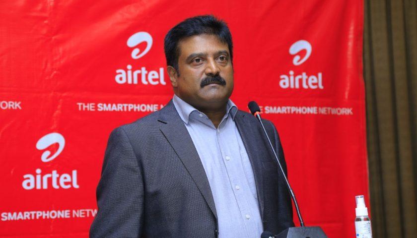 Manoj Murali, the Managing Director, Airtel Uganda